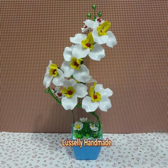 Jual Bunga Akrilik Anggrek Kab Bogor Lusselly Handmade Tokopedia