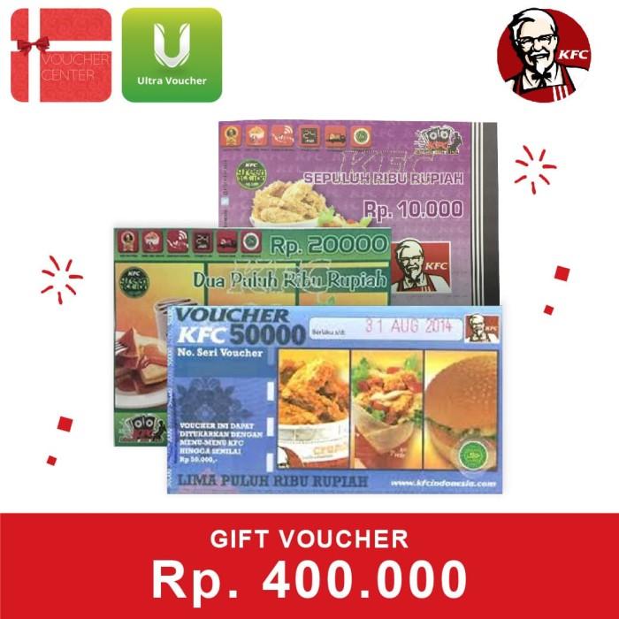 Foto Produk Voucher KFC Rp. 400,000 dari Ultra Voucher