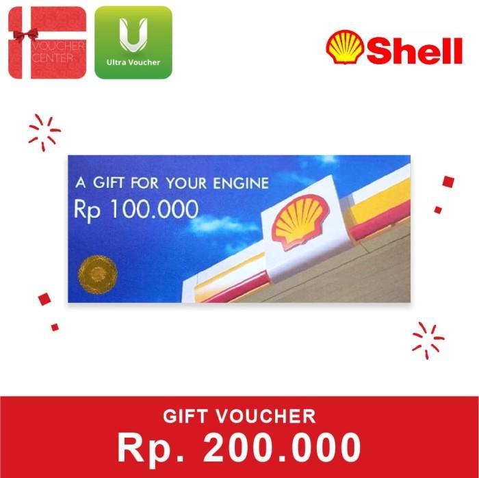 Foto Produk Voucher Shell Rp 200.000 dari Ultra Voucher
