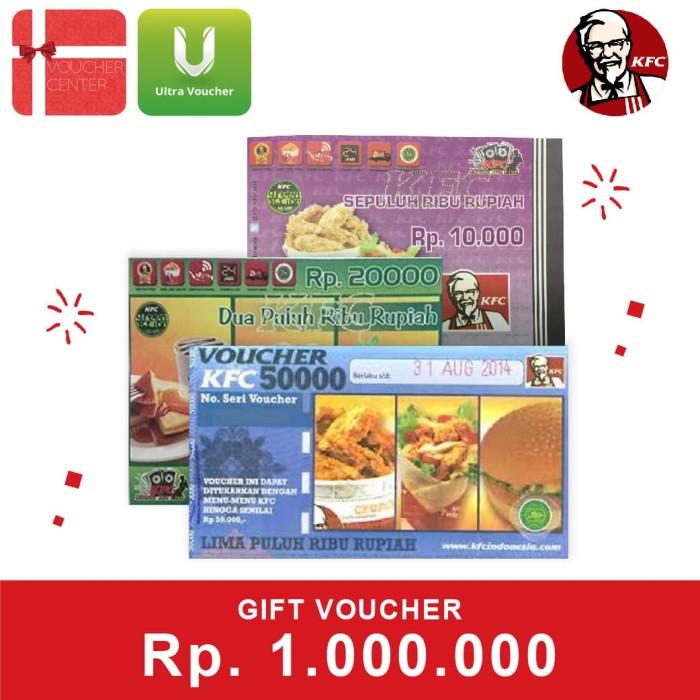 Foto Produk Voucher KFC Rp 1.000.000 dari Ultra Voucher
