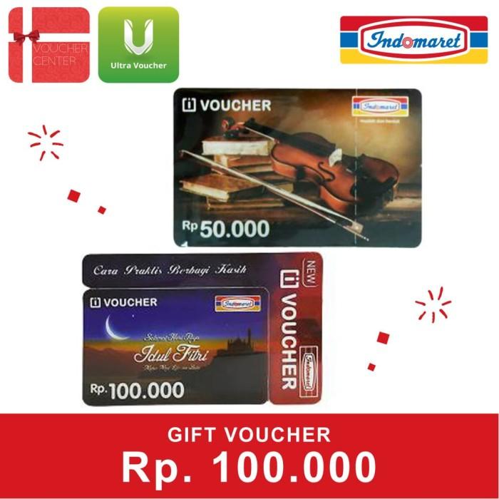 Foto Produk Voucher Indomaret Rp 100.000 dari Ultra Voucher