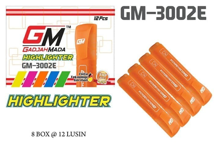 Foto Produk Stabilo highlighter GM3002E kwalitas super dari Theori Shoop