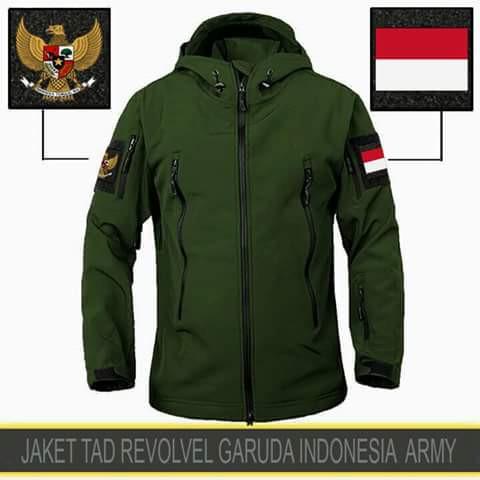 Jaket timnas garuda indonesia jaket tad army tni