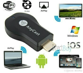 harga Anycast wifi display dongle smartphone screen mirroring hdtv projector Tokopedia.com