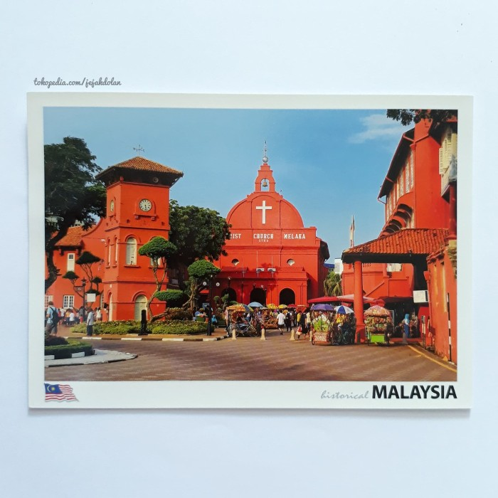 Foto Produk Kartu Pos Melaka - Kartu Pos Luar Negeri dari Jejak Dolan