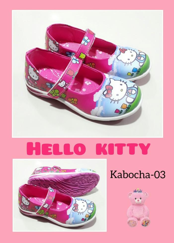 harga Sepatu anak perempuan hello kitty kabocha pink biru Tokopedia.com
