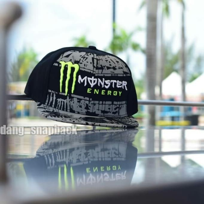 harga Topi original import / snapback monster energy original import / hat Tokopedia.com