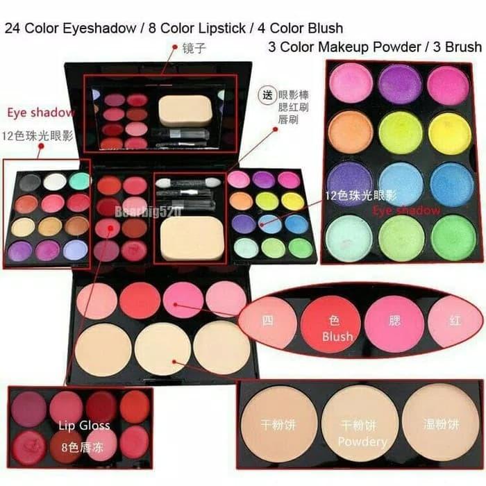 harga Ads makeup set best seller Tokopedia.com