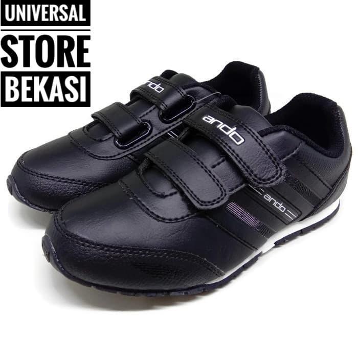 harga Sepatu sekolah paud tk sd ando diva hitam putih sepatu anak perempuan Tokopedia.com