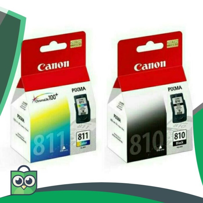 Info Cartridge Canon 810 Dan 811 Travelbon.com