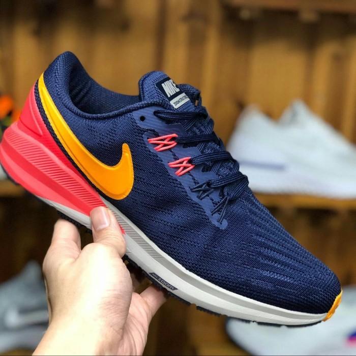 big sale 616e5 166bc Jual Nike Air Max Zoom Structure 22 Blackened Blue/Orange Peel. Premium -  Jakarta Selatan - EmbunpagiSneakers | Tokopedia