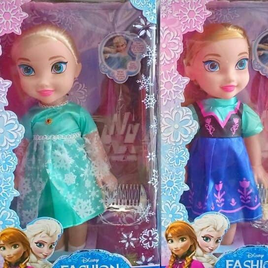 Jual Paket 2 pcs Boneka FROZEN ANNA   ELSA bisa nyanyi LET IT GO ... 43202db471