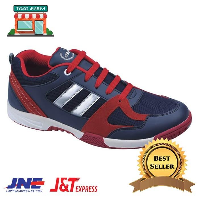 Jual Sepatu Sport Murah Pria - Biru aa9ebf1eef