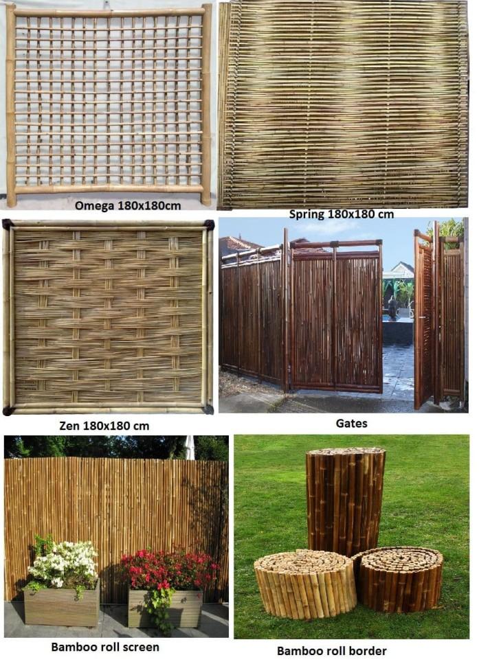 84 Koleksi Gambar Pagar Rumah Pakai Bambu Terbaru