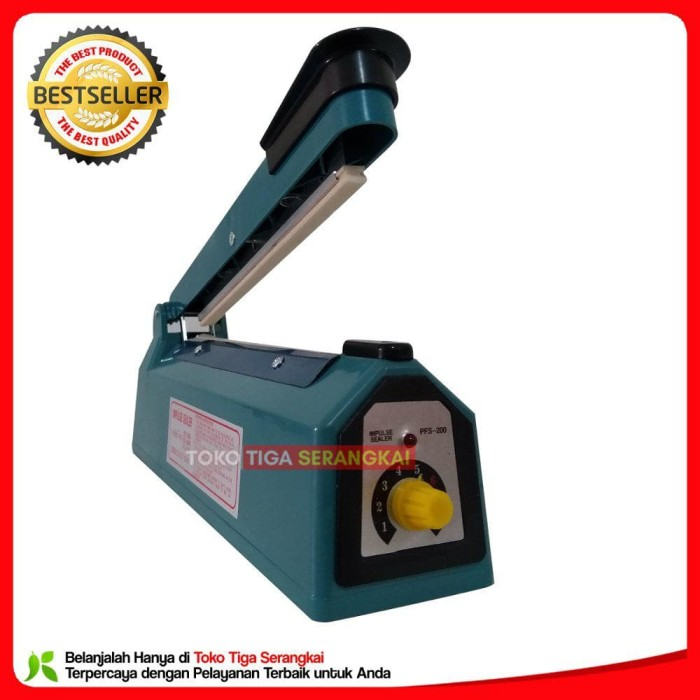 Terlaris Q2 Impulse Sealer Pfs-200 Pres Plastik 20 Cm