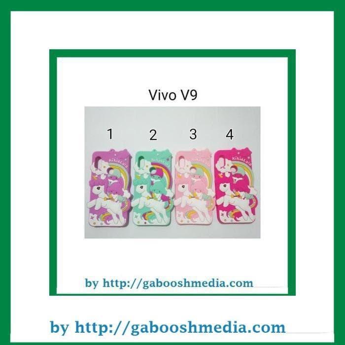 Silikon Case 3D Karakter For Vivo V9 / Case Silicon Vivo V9