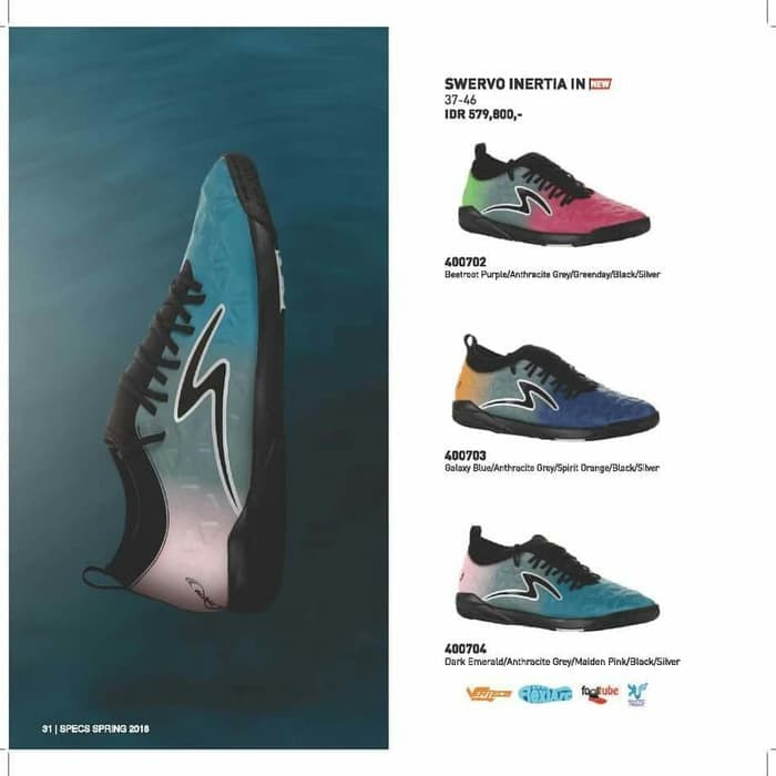 Jual Promo Sepatu Futsal Sepatu Bola Specs Swervo Inertia Best