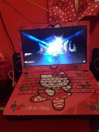 9e109e1c5 Jual Garskin Laptop Full Body Asus X441 Series Motif Kitty - Free ...