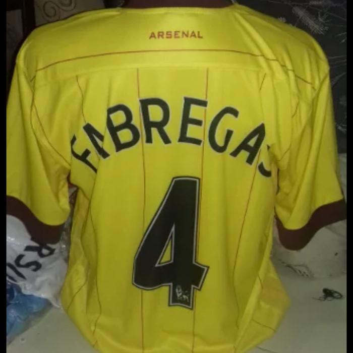 half off bc358 64c36 Jual Cesc Fabregas - Jersey Arsenal Name Set Kuning - Merk Multisport - DKI  Jakarta - Heni Pratiwi Shop | Tokopedia