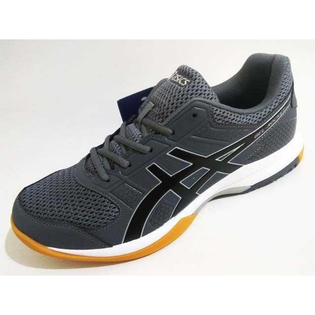 Jual Sepatu Badminton Voli Asics Gel Rocket 8 B706y 9790 Carbon