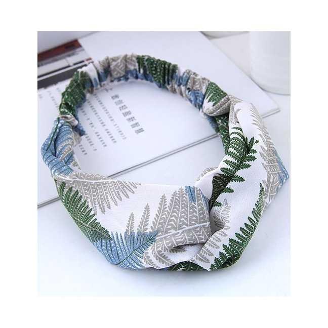 LRC Bando Leaf Pattern Decorated Hairband