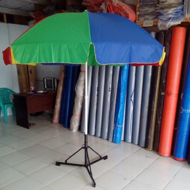 Foto Produk Jual Pantai Pelangi Payung Parasol Standard dari Berkah Media Promosi