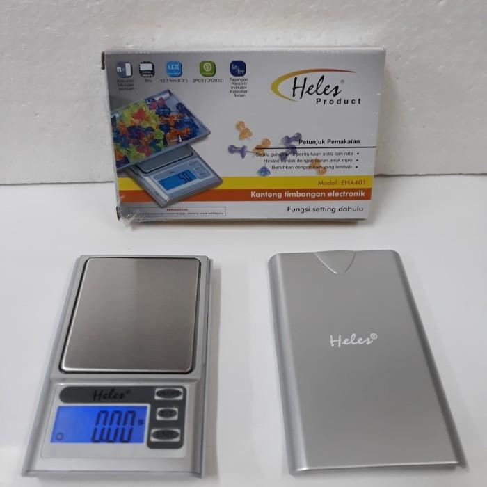 Timbangan emas/saku digital HELES EHA-401