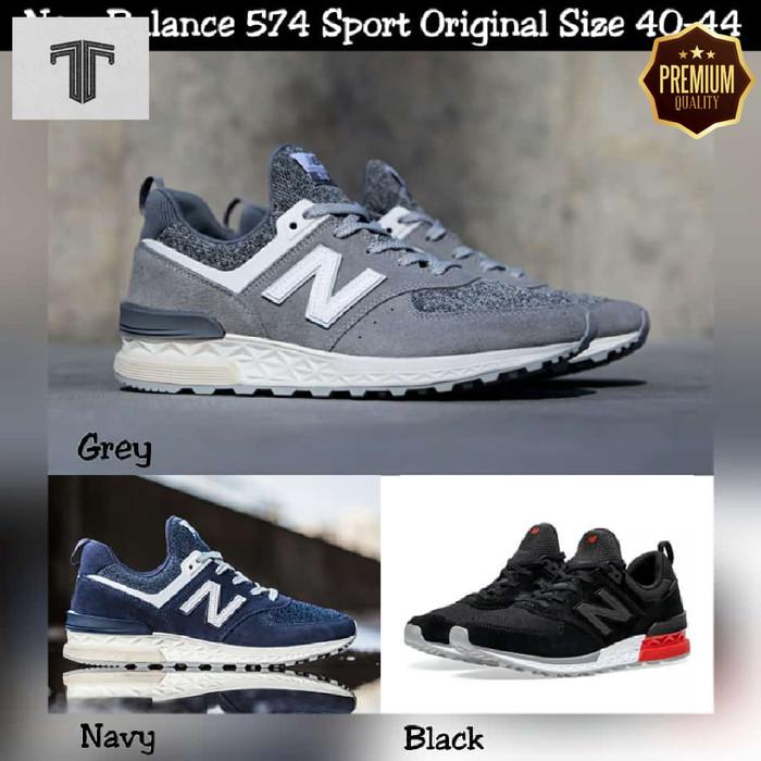 Jual New Balance 574 Sport Original Made In China BNIB Hitam, 43 Kab. Tangerang Toko Taras SKY | Tokopedia