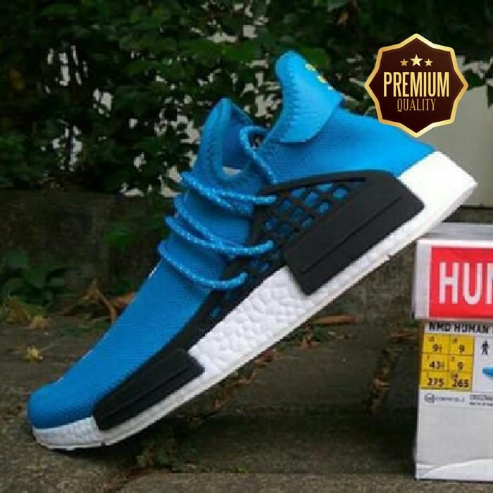 449efb344e65c Jual Sepatu Adidas Human Race NMD Original - Adidas Original - Biru ...