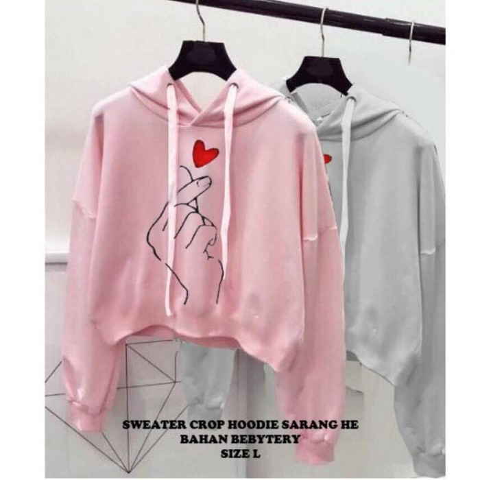 HOODIE LOVE IN THE AIR SARANGEA SWEATER SARANGHAE