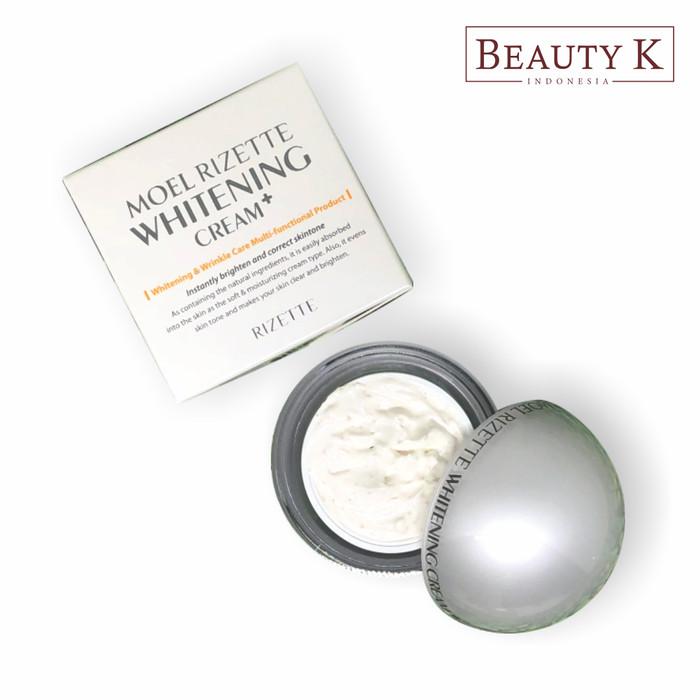 BeautyK Moel Rizette Plus Whitening Cream 50 GR