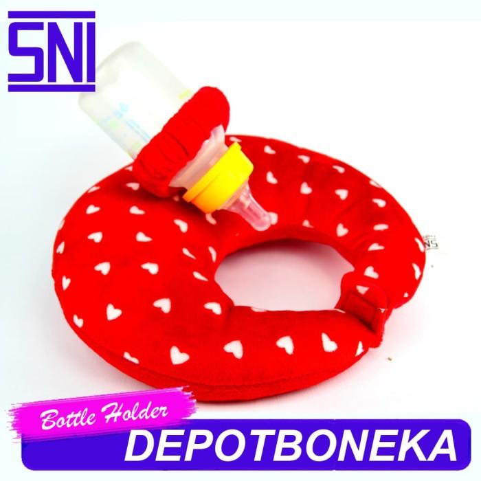 harga Bantal leher bayi plus tempat dot susu merah bintang Tokopedia.com