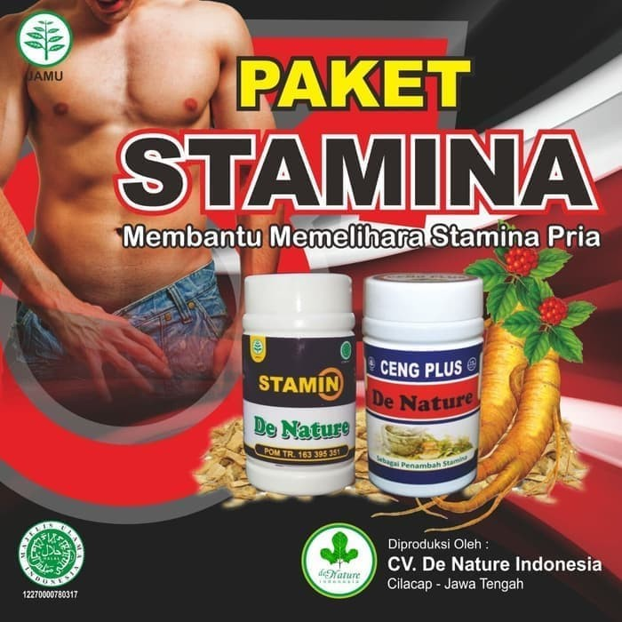 Foto Produk Obat Eja-kulasi Dini, Stamina Kuat, Pria Herbal asli De nature dari TamaZia