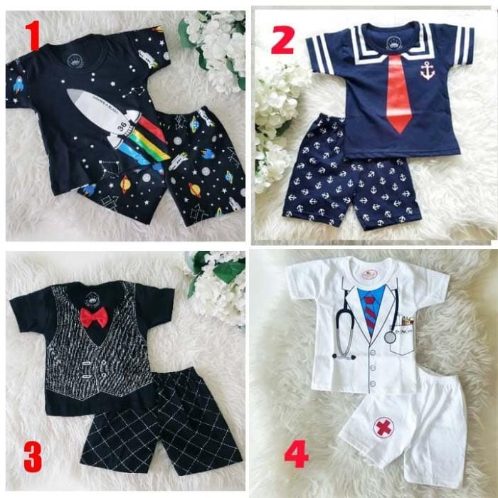 41 Gaya Baju Baby Laki Laki Lucu Paling Keren
