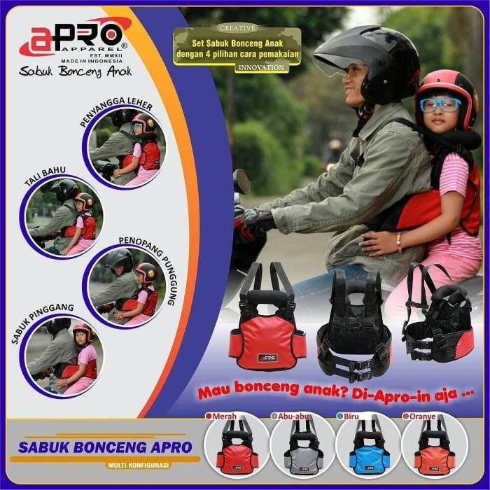 Sabuk Bonceng Anak Multi New Apro - abu abu