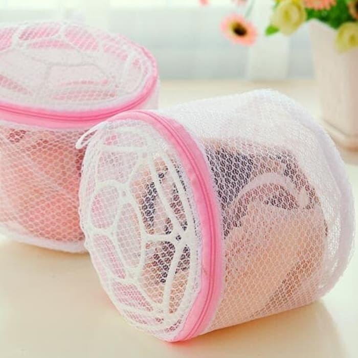 Foto Produk Loundry bra bag / kantong cuci bra dan celana dalam dari Tuan Toman