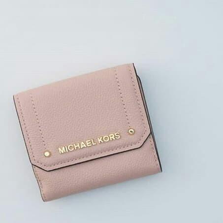 2f096dff1b1e3 Jual Dompet Michael Kors original - Mk hayes trifold wallet pastel ...