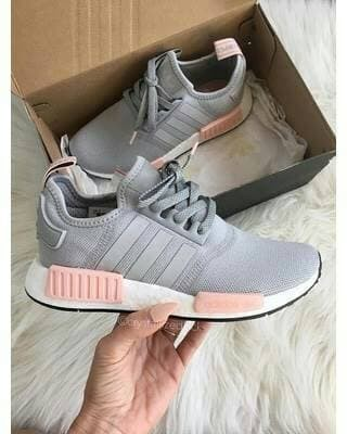 the best attitude f4c62 0943e Jual Sepatu Sneakers Adidas NMD R1 Grey Pink White Women - ridoshop9 |  Tokopedia