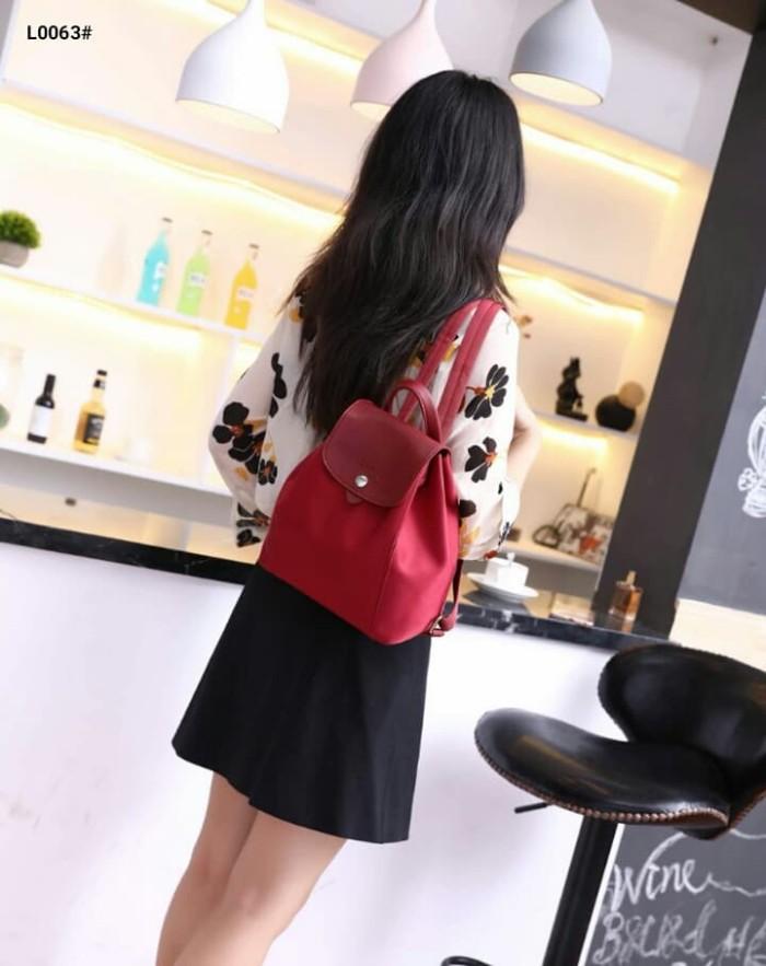 Jual Le Pliage Longchamp Backpack Bag..... Kode L0063  - Likeshopp ... 87f9c50498138