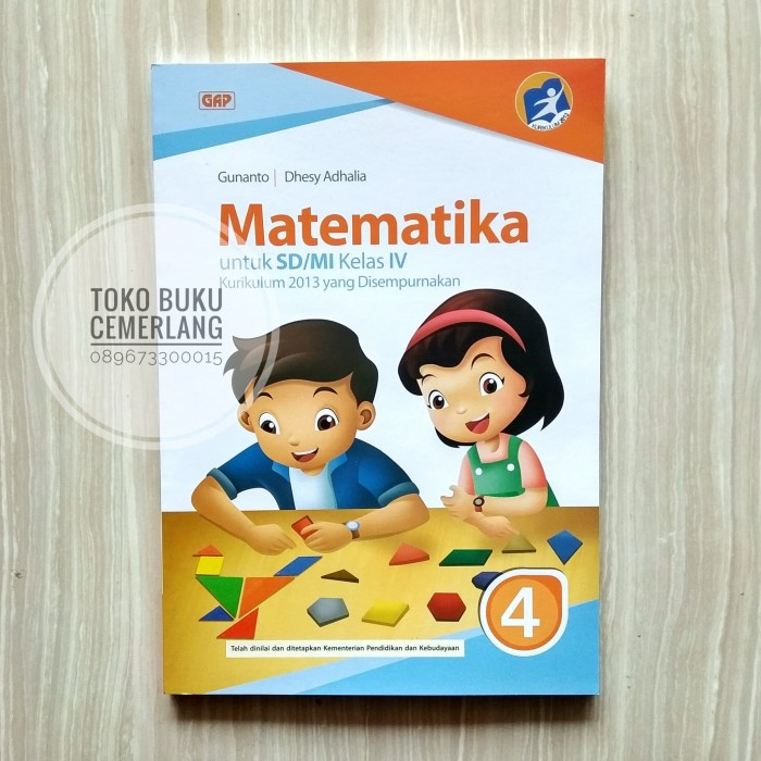 Buku Matematika Kelas 4 Kurikulum 2013 Pdf - Guru Ilmu Sosial