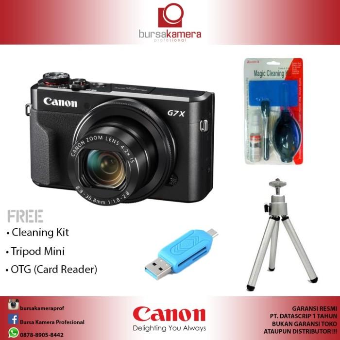 harga Canon powershot g7x mark ii digital camera (datascrip) Tokopedia.com