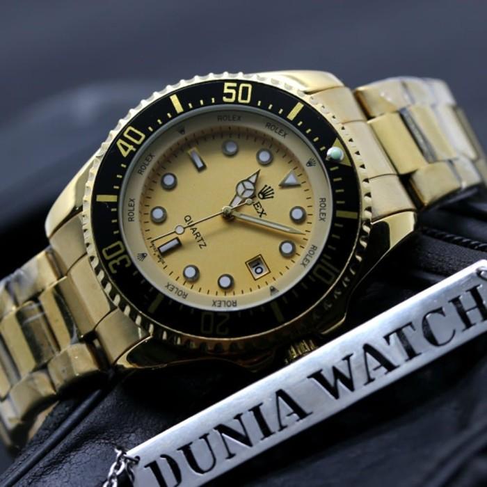 Jam Tangan Pria Rolex Premium Super Dunia Watch Oke