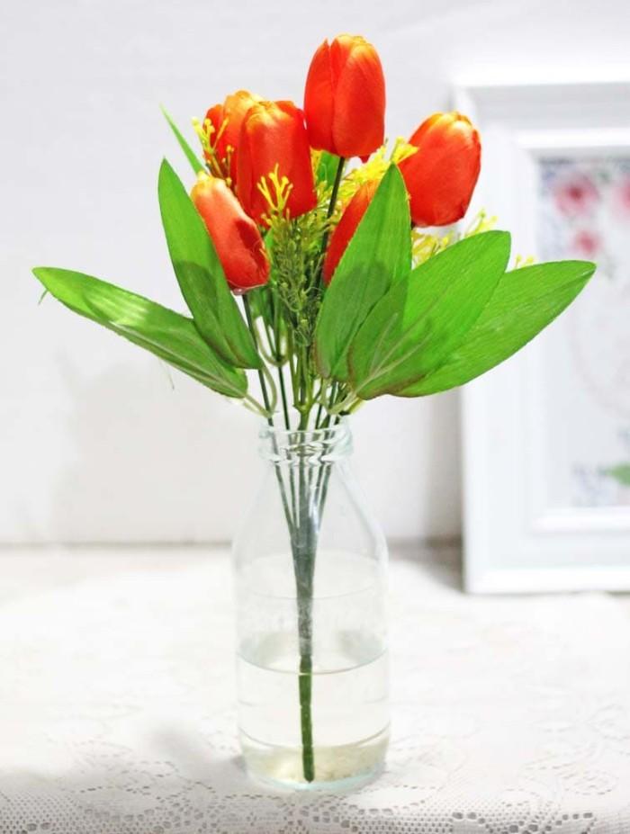 harga Bunga plastik hias artificial artifisial hias tulip shabby chic b1-7  Tokopedia.com 33a6e9193f