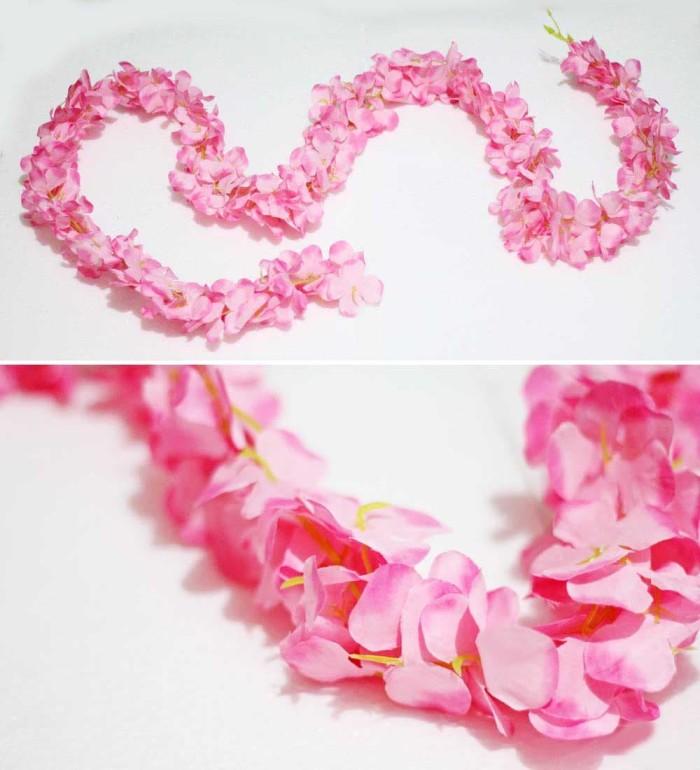 harga Bunga artificial rambat garland climbing hortensia hydrangea pink Tokopedia.com