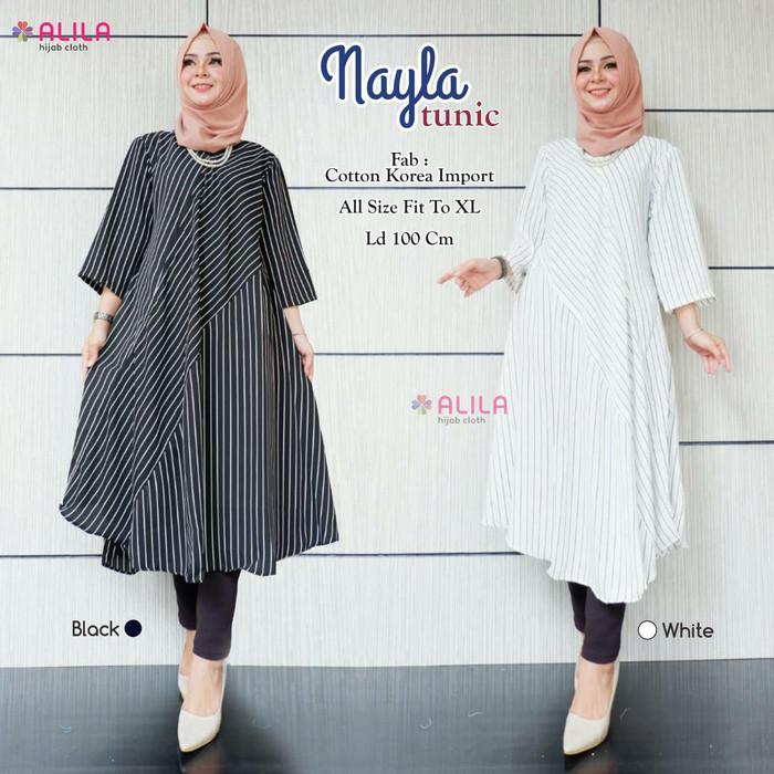 Jual Baju Tunik Wanita Muslim Gaul Cantik Kota Surakarta Vivien Collection Tokopedia