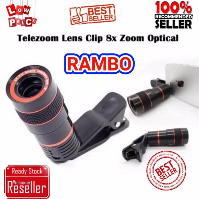 harga Telezoom jepit universal clip / lensa kamera handphone teleskope Tokopedia.com