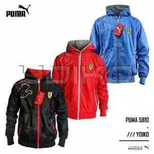 Jual Jaket Puma Ferrari 5801 IMPORT BOLAK BALIK BEST SELLER - BLUE ... 6a2f19b32e