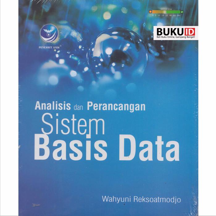 harga Buku analisis dan perancangan sistem basis data Tokopedia.com