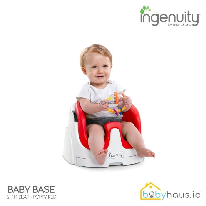 INGENUITY BABY BASE 2IN1 POPPY RED