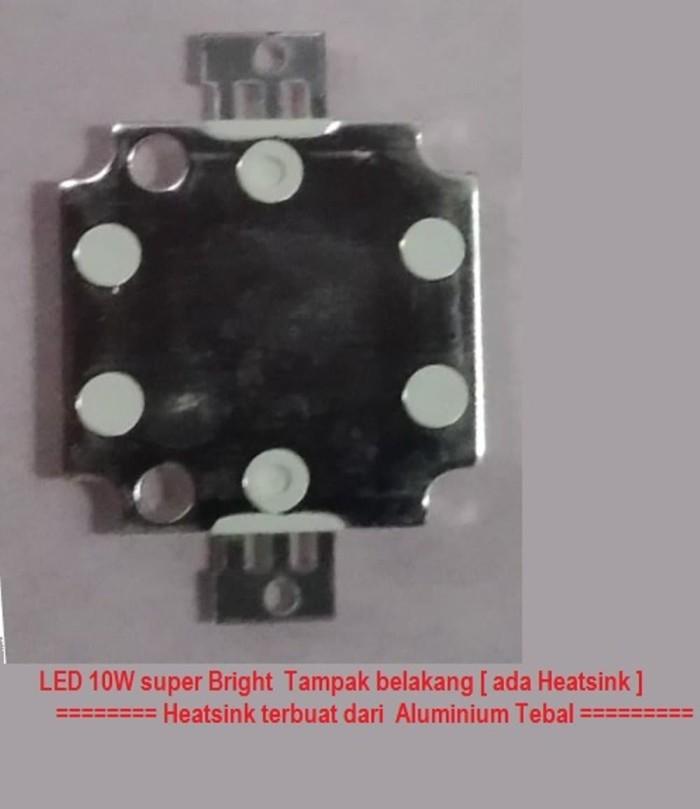 Lampu Led 10W HPL KOTAK 6 500K WHITE EMITTER 900LM type Osram
